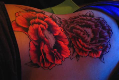 uv ink tattoo new uv tattoos blacklight tattoos special ink tattoos