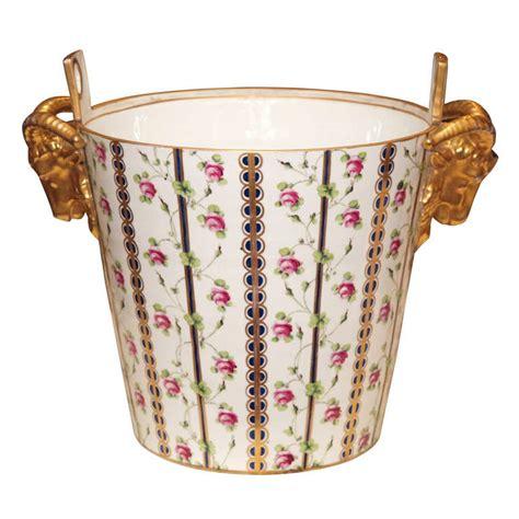 kevin france upholstery sevres marie antionette milk bucket at 1stdibs