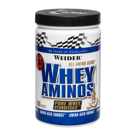 Whey Amino Weider Whey Amino Tablets Quickly Absorbed Protein
