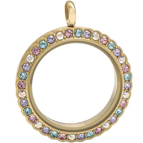 Origami Owl Large Gold Locket With Crystals - 3886 best images about origami owl on dangles