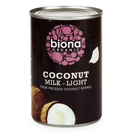 can dogs coconut milk biona coconut milk light 400ml buy whole foods