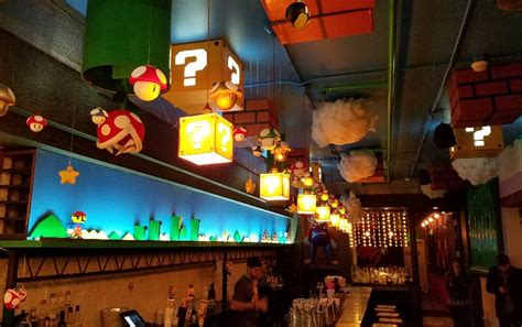 themed party nights for pubs super mario themed pop up bar in dc looks pretty awesome