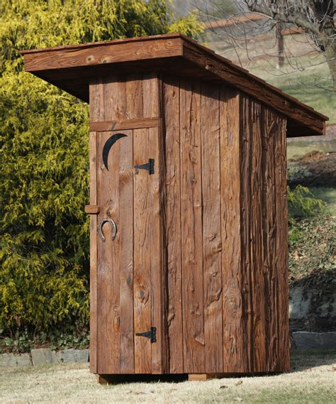 outhouse  sale  md amish built vintage wooden
