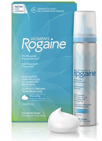 does rogaine foam for women work picture women s rogaine launches once a day 5 minoxidil foam