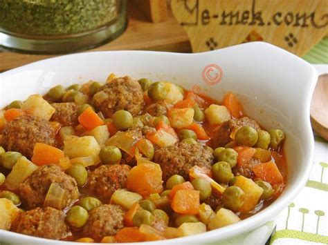 kolay pratik resimli pizza tarifleri nefis yemekler meatballs with vegetables recipe recipes from turkish