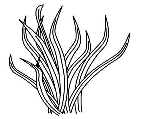 coloring page for grass grass coloring pages free clipart best