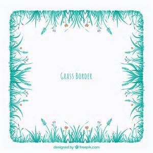 decorative grass decorative grass frame vector free
