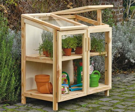giardino terrazzo fai da te come costruire una serra di legno