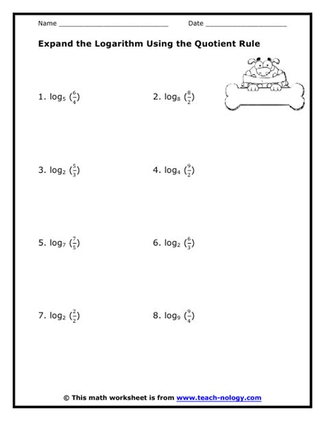 printable math worksheets power rule quotient rule worksheet worksheets releaseboard free