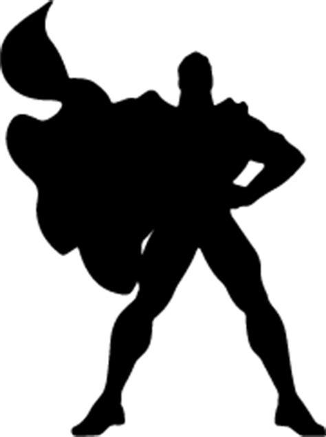 Superman Siluet superman silhouette clipart