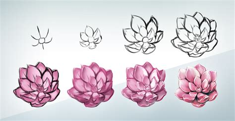 how to draw doodle flowers flower steps by kawiku on deviantart