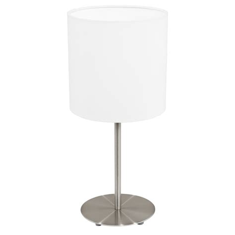 eglo pasteri wall light eglo lighting pasteri single light table l in satin
