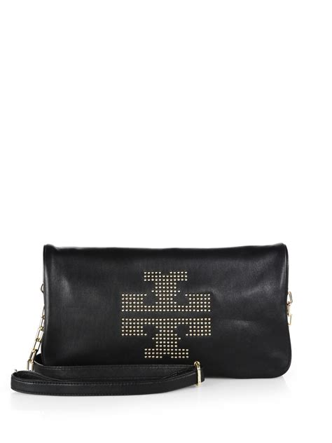 Burch Stud Cross Bag burch studded crossbody leather bag in black lyst