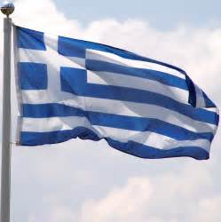 Decorative Safety Pins Greece Flag 3ft X 5ft Super Knit Polyester