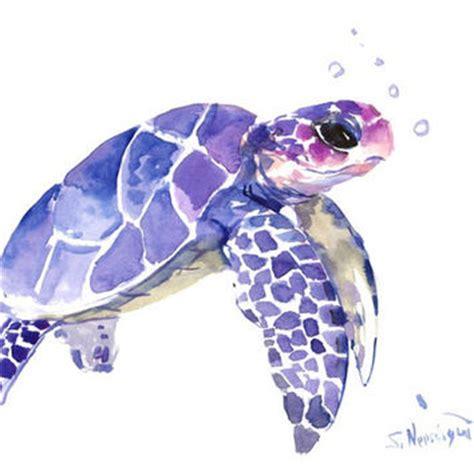 best sea turtle painting products on wanelo acuarela turtle paintings and