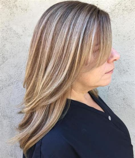 highlighting hair on 60 plus woman 60 most prominent hairstyles for women over 40