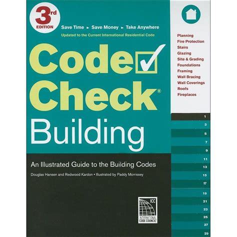 code check an illustrated guide to building a safe house books code check building book an illustrated guide to the