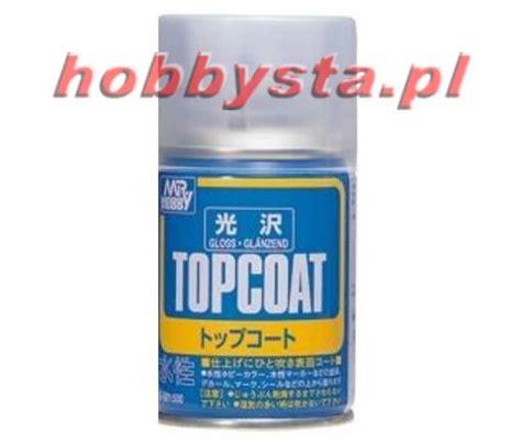 Mr Hobby Topcoat Gloss B501 Spray Top Coat Gloss mr top coat gloss gunze sangyo b501