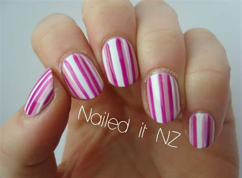 easy nails youtube easy striped nail art tutorial on youtube