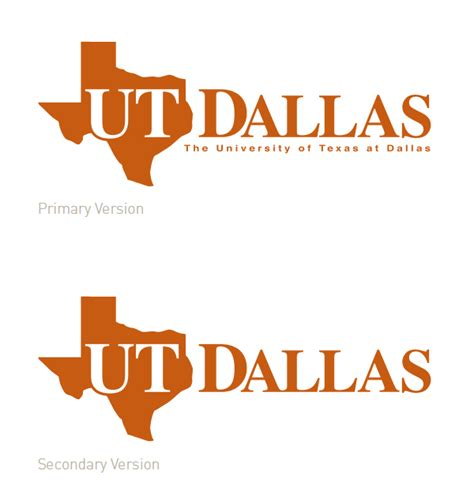 Utd Mba Requirements by Ut Dallas Logos Brand Standards The Of