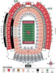 Ohio State Stadium Map ohiostatebuckeyes com the ohio state university