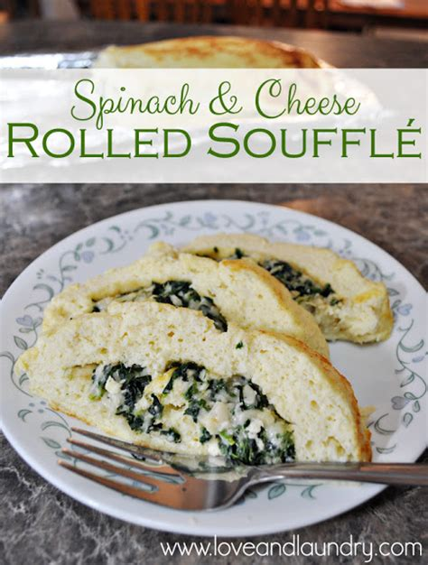 spinach cheese souffle spinach and cheese rolled souffl 233 love and laundry