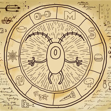 gravity falls bill cipher wheel plankton cipher wheel gravityfalls