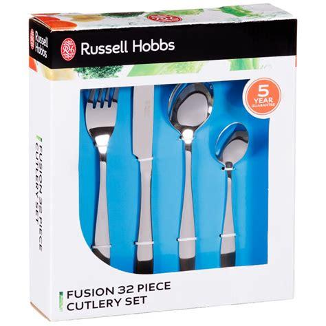 Pisau Set Russel Hobbs b m hobbs cutlery set 32pc 320029 b m