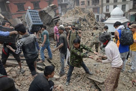 earthquake nepal photos aftermath of nepal earthquake cctv america