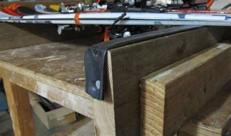 ski tuning bench make your own ski rack book covers