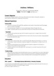 Skills Based Resume Template Free by Resume Exles Free Skills Based Resume Template Exle