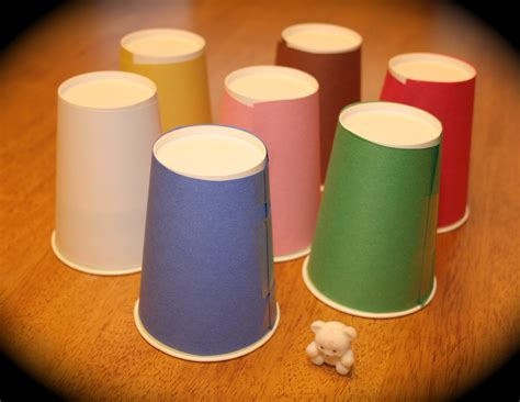 color cup for paper cups for hiding