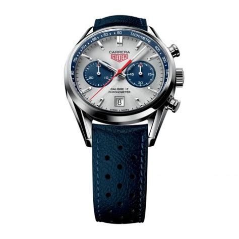 Tagheuer Formula1 Monaco Silver Black Leather tag heuer silver chronograph blue leather mens