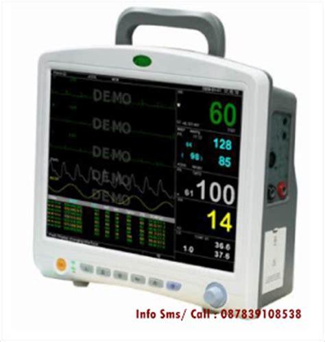 Monitor Rumah Sakit patient monitor up 9000 multi parameter with printer jual alkes rumah sakit