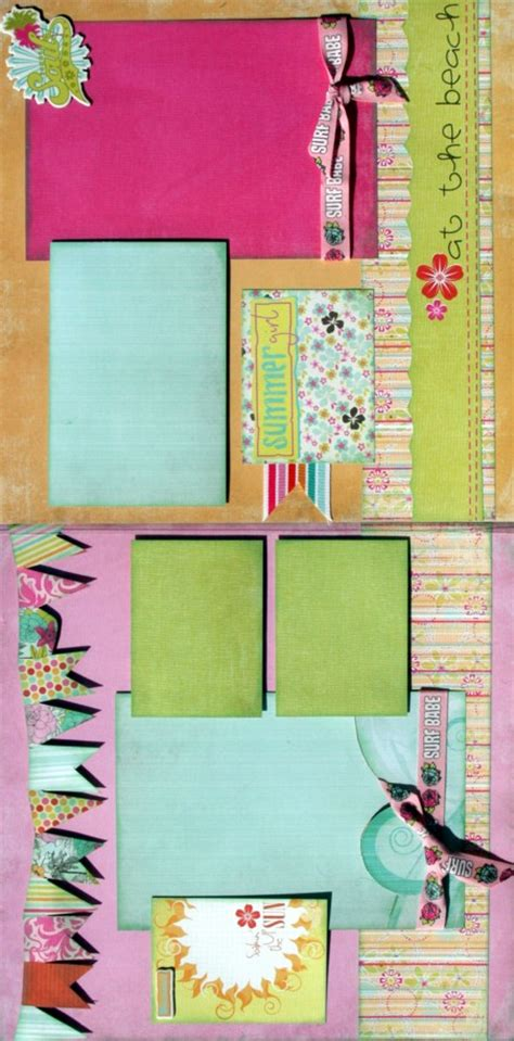 2 page scrapbook layout kits girls girls girls 2 two page layout scrapbook page kits