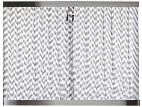 fireplace spark screen mesh curtains fireplace spark screen mesh curtains chain link mesh spark