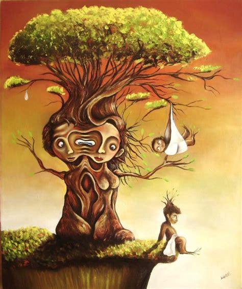 imagenes surrealistas de arboles obra de arte el arbol de la vida artistas y arte