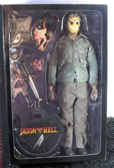 amazoncom jason voorhees action figure  friday   part ix jason   hell toys