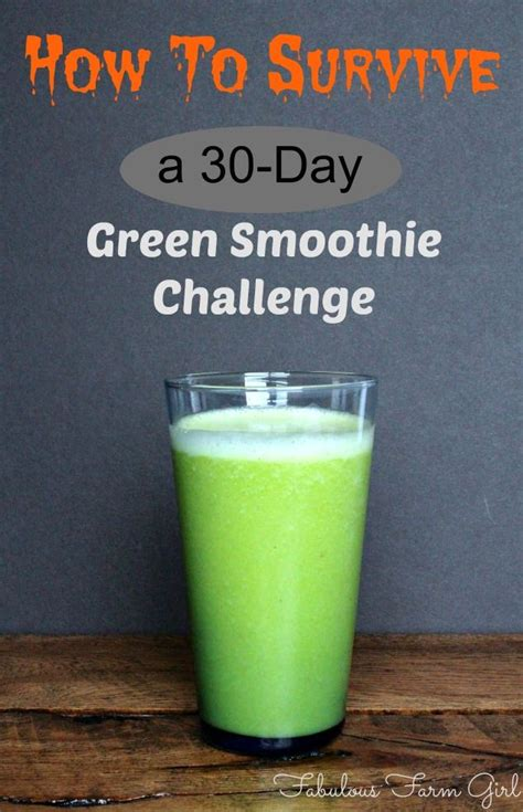 Detox Green Smoothie Challenge by Green Smoothie Challenge A Survivor S Story Green