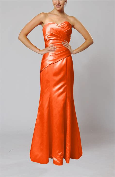 persimmon color dress persimmon bridesmaid dress sleeveless backless