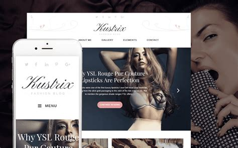 7 Best Blogs By by 7 Best Fashion Themes Spacema Studio