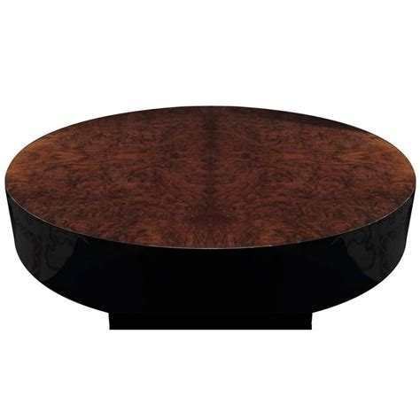 Pull Out Coffee Table Mid Century Walnut Burl Pull Out Coffee Table For Sale At 1stdibs