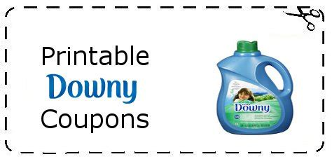 printable coupons for fabric softener downy softener coupons printable grocery coupons