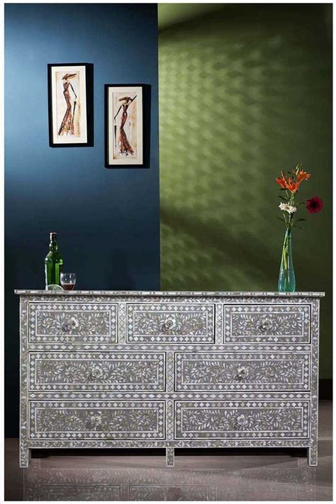 mother of pearl l luxury dresser bone mother of pearl inlay furnitue store