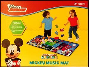 Disney Junior Electronic Mat - brand new disney junior mickey mouse clubhouse interactive