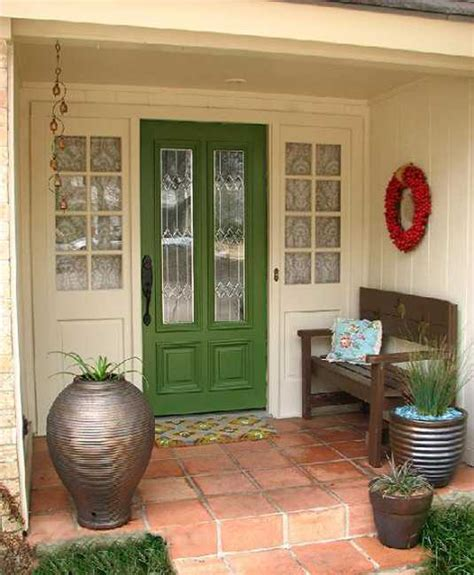 What Color To Paint A Front Door Exterior Wood Door Decorating With Paint To Personalize House Design And Feng Shui Homes