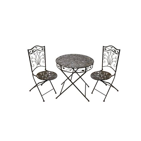 Patio Table And Chair Sets Metal Patio Table And Chairs Set Marceladick