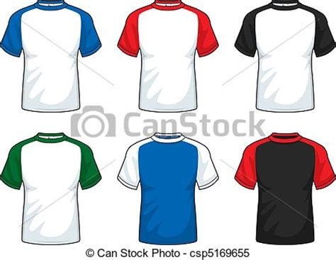 Kaos Sket Sleeve clipart vector of sleeve shirts a variety of