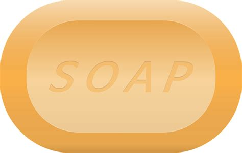 Sabun Gamas Transparan Bar Soap free vector graphic soap foam bath soap bath shower