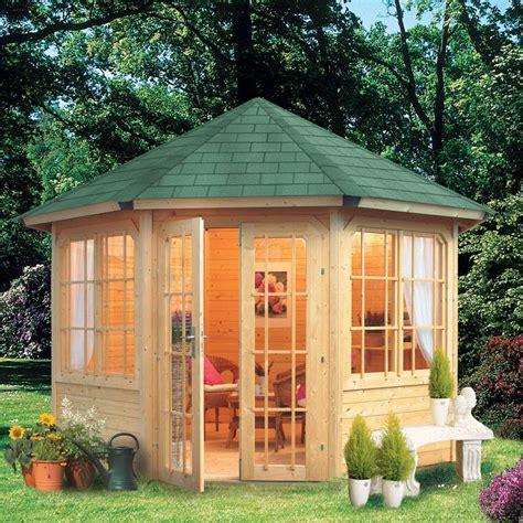 kiosque en bois pour jardin kiosque jardin hexagonal